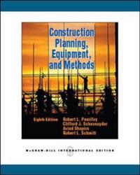 Construction Planning, Equipment, and Methods (Int'l Ed)