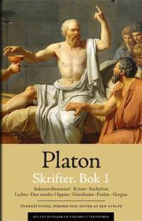 Skrifter 1. Sokrates försvarstal Kriton Euthyfron Laches Gästabudet