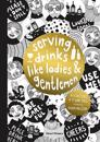 Serving drinks like ladies and gentlemen, 42 coasters and 36 winetags