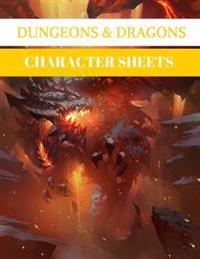 Character Sheets: Dungeons & Dragons: 100 Pages (D&d Accessory)