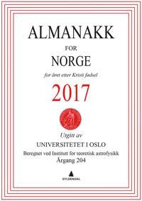 Almanakk for Norge 2017