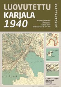 Luovutettu Karjala 1940, 1:400 000