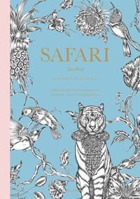 Safari: Tavelbok - 20 illustrationer att färglägga