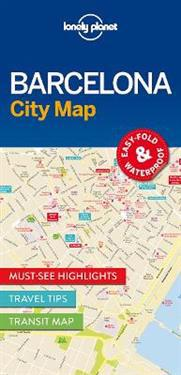 Lonely Planet BarcelonaCity Map