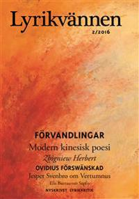 Lyrikvännen 2 / 2016