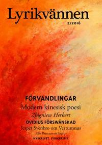 Lyrikvännen 2/2016