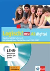 Logisch! neu A1. Lehrwerk digital mit interaktiven Tafelbildern, DVD-ROM