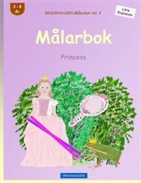 Brockhausen Målarbok Vol. 4 - Målarbok: Princess