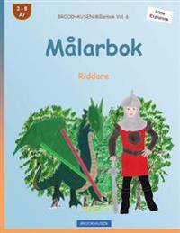 Brockhausen Malarbok Vol. 6 - Malarbok: Riddare