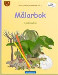Brockhausen Målarbok Vol. 3 - Målarbok: Dinosaurie