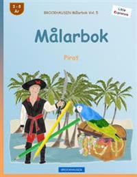 Brockhausen Malarbok Vol. 5 - Malarbok: Pirat