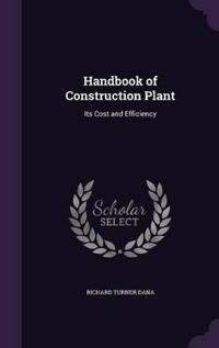 Handbook of Construction Plant