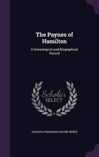 The Paynes of Hamilton