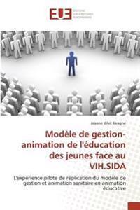 Modèle de gestion-animation de l'éducation des jeunes face au VIH.SIDA