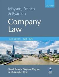 Mayson, French & Ryan on Company Law 2016-2017