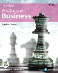 BTEC Nationals Business Student Book 2 + Activebook