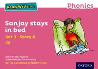 Read Write Inc. Phonics: Pink Set 3 Storybook 6 Sanjay Stays in Bed