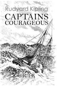 Captains Courageous: A Story of the Grand Banks - Illustrated