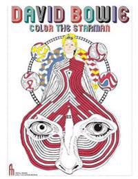 David Bowie Color the Starman