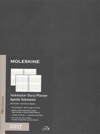 Moleskine 2017 Weekly Taskmaster Planner, Vertical, 12m, Extra Large
