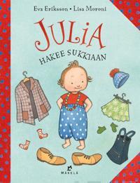 Julia hakee sukkiaan
