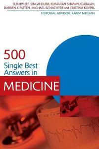 500 Single Best Answers in Medicine