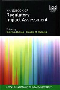 Handbook of Regulatory Impact Assessment