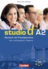Studio d. Teilband 2 des Gesamtbandes 2. Kurs- und Übungsbuch mit Lerner-CD