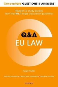 Concentrate questions and answers  eu law - law q&a revision and study guid