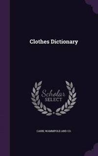 Clothes Dictionary