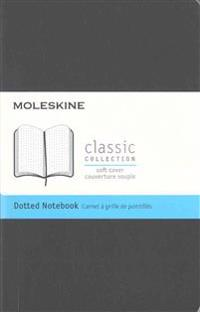 Moleskine Classic Notebook, Pocket, Dotted, Black