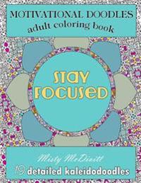 Motivational Doodles - Adults Coloring Book