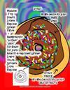 """Malbuch Teig Donuts Lernen Englisch Sprache Farben + Raumkonzepte """"Zu Ende"""" """"Unter"""" Fur Kinder Fur Jeden Buch Ist in Englischer Sprache Lehrer Sollen"""