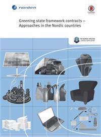 Greening state framework contracts - Approaches in the Nordic countries