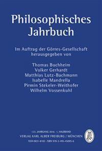 Philosophisches Jahrbuch 123.1 Jahrgang 2016