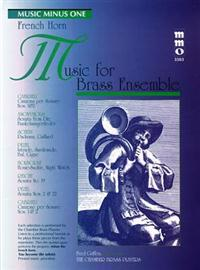 Music for Brass Ensemble: French Horn