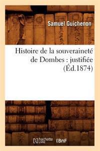 Histoire de la Souverainete de Dombes