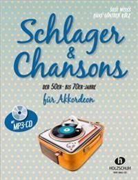 Schlager & Chansons der 50er- bis 70er- Jahre. Mit MP3-CD