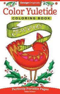Color Yuletide Coloring Book