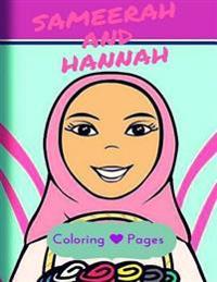 Sameerah and Hannah Coloring Pages