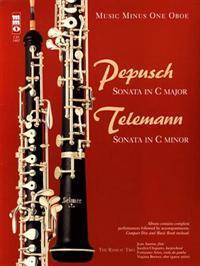 Pepusch: Sonata in C Major/Telemann: Sonata in C Minor [With CD (Audio)]