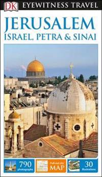 DK Eyewitness Travel Guide Jerusalem, Israel, PetraSinai