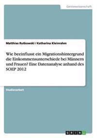 Wie Beeinflusst Ein Migrationshintergrund Die Einkommensunterschiede Bei Mannern Und Frauen? Eine Datenanalyse Anhand Des Soep 2012