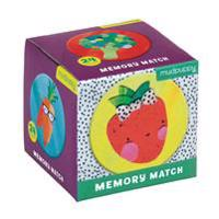 Fruits & Veggies Mini Memory Match Game