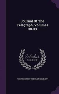 Journal of the Telegraph, Volumes 30-33