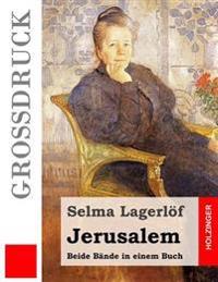 Jerusalem (Grossdruck): Beide Bande in Einem Buch