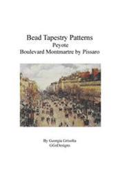Bead Tapestry Patterns Peyote Boulevard Montmartre by Pissaro