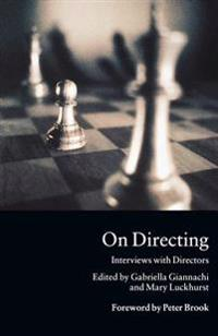 On Directing: Interviews with Directors
