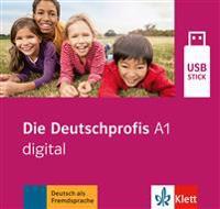 Die Deutschprofis A1 digital. USB-Stick