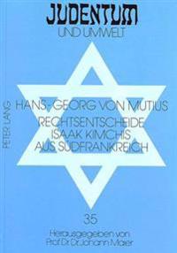 Rechtsentscheide Isaak Kimchis Aus Suedfrankreich